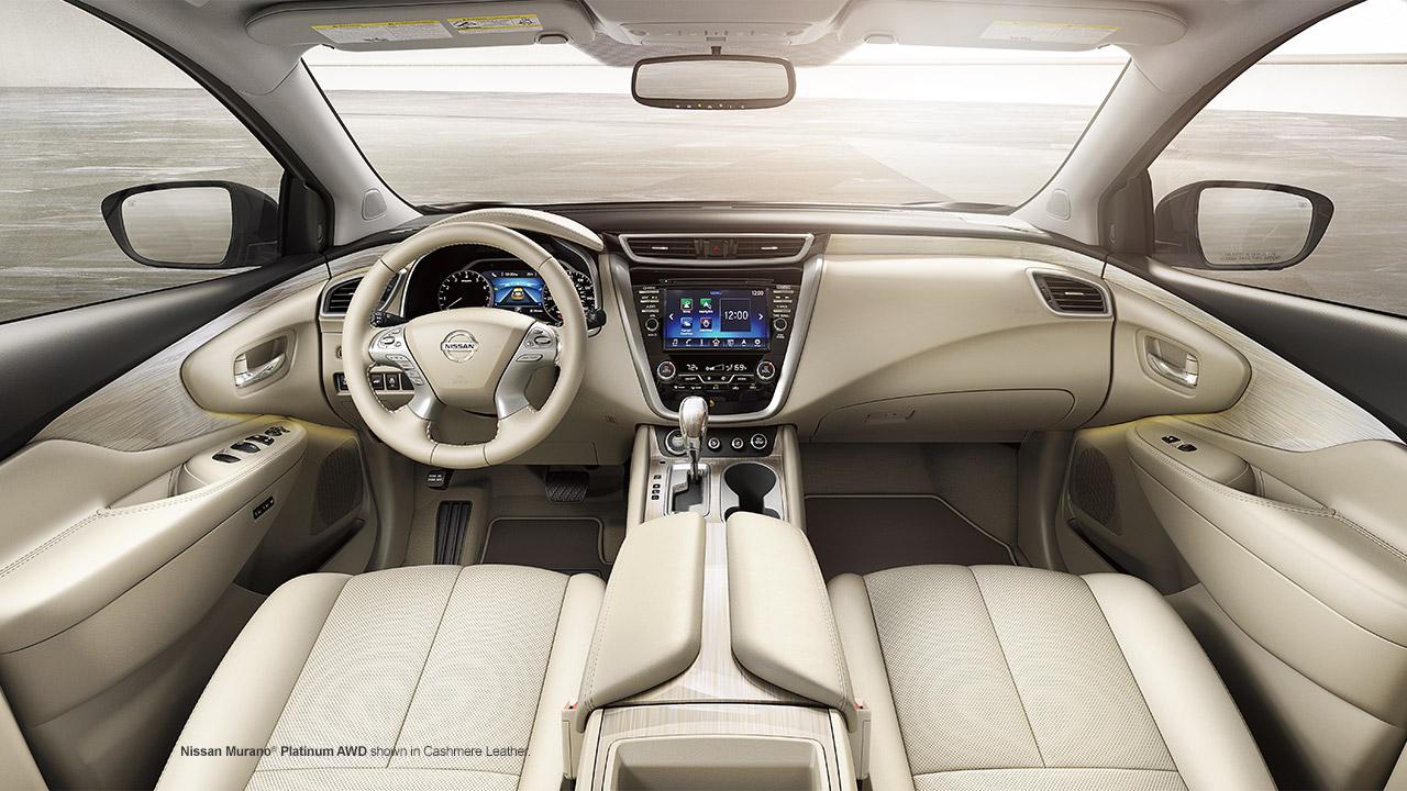 Nissan Murano 2016 interrior (интерьер, салон)