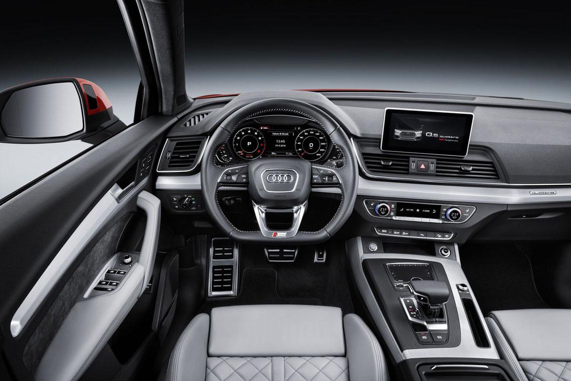 Audi Q5, салон