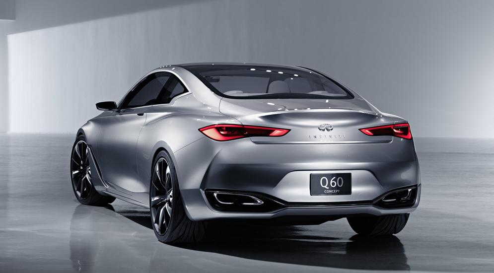 Новый спортивный купеInfiniti Q60