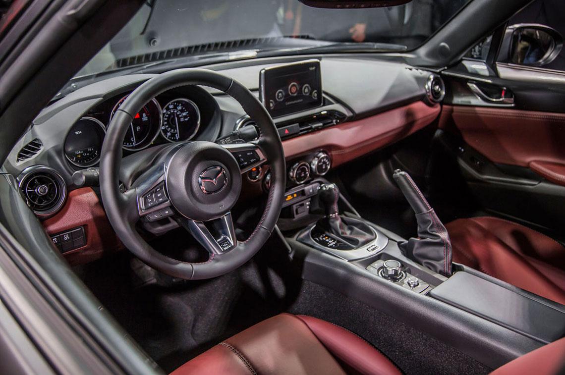 Mazda MX-5 RF, салон, интерьер