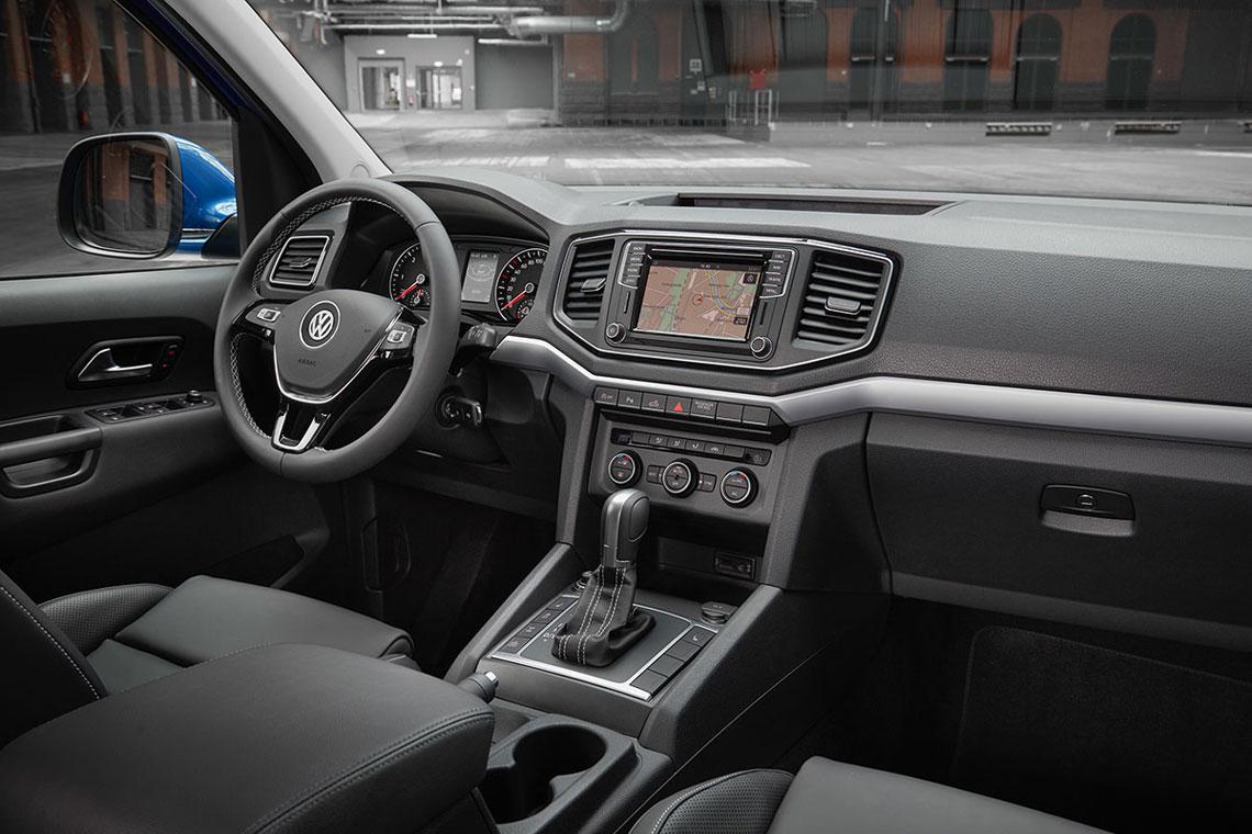 Volkswagen Amarok, салон, интерьер