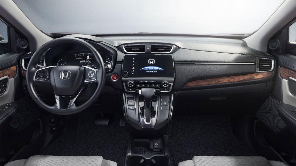 Honda CR-V - салон, интерьер
