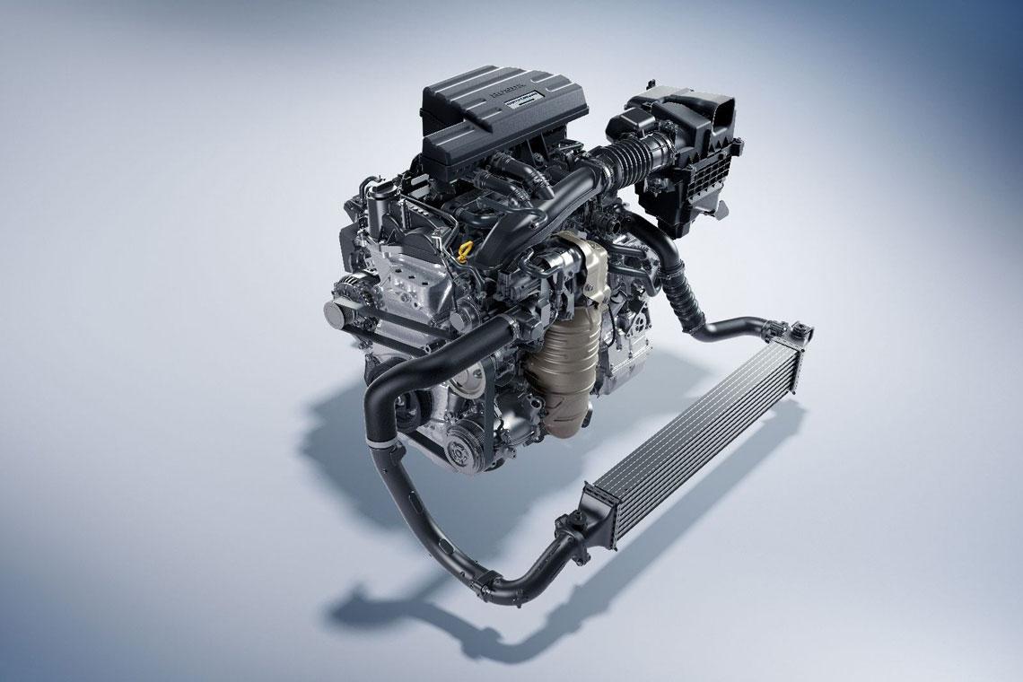 Honda CR-V - двигатель