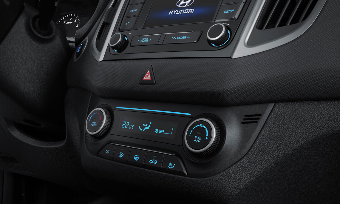 Hyundai Creta - интерьер, салон