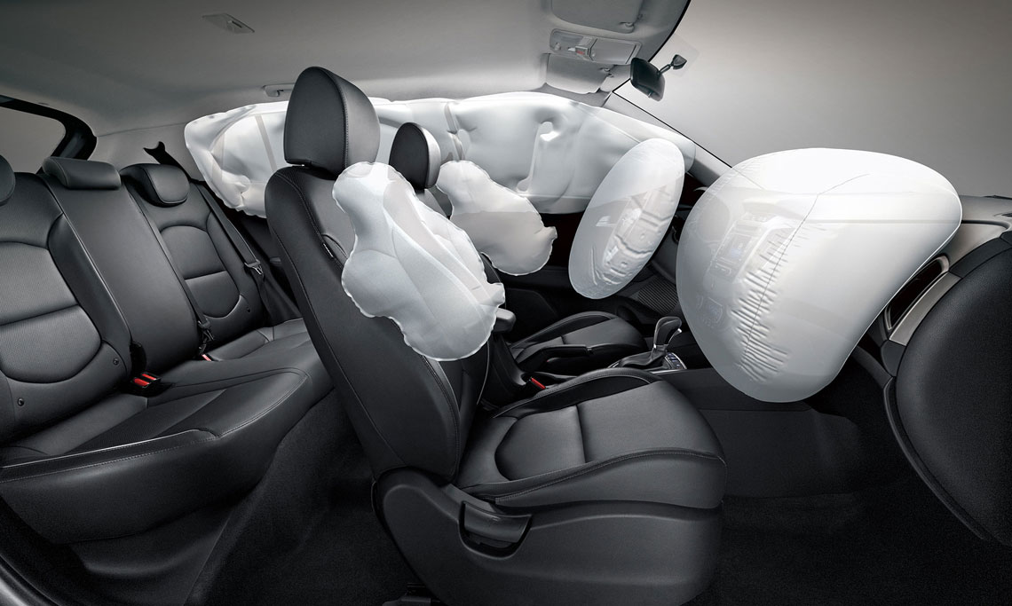 Hyundai Creta - безопасность, подушки безопасности