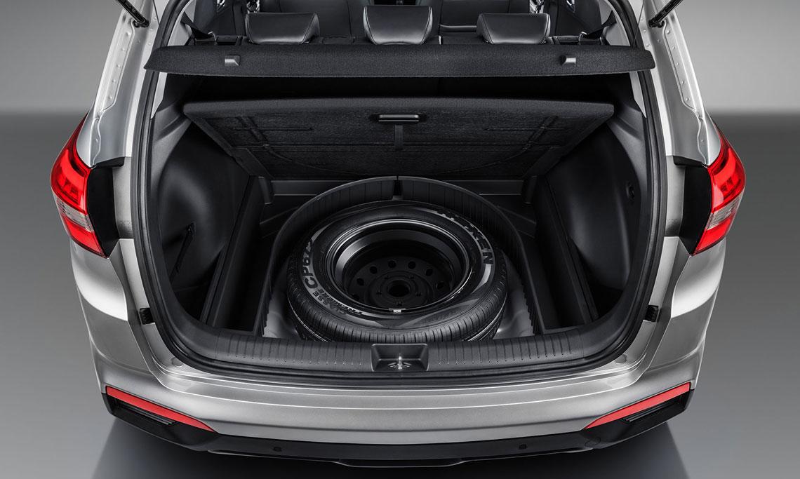 Hyundai Creta - багажник, запаска