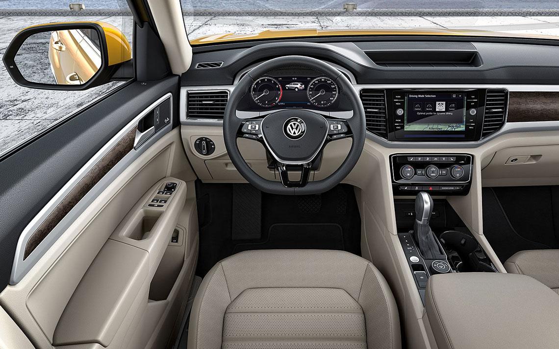 Volkswagen Teramont - салон, интерьер