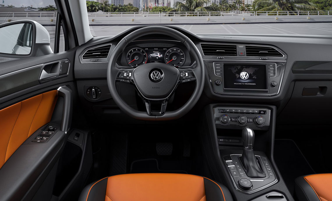 Volkswagen Tiguan 2017 - салон, интерьер