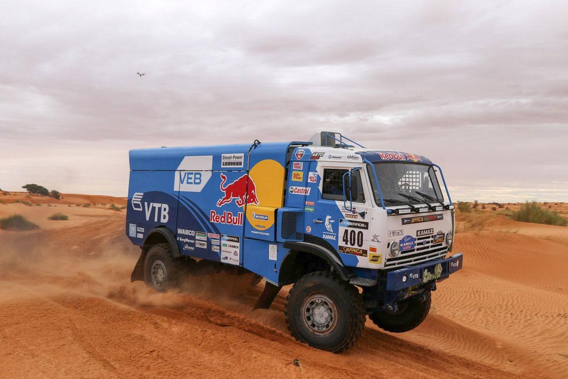 Ралли Africa Eco Race - Камаз-мастер