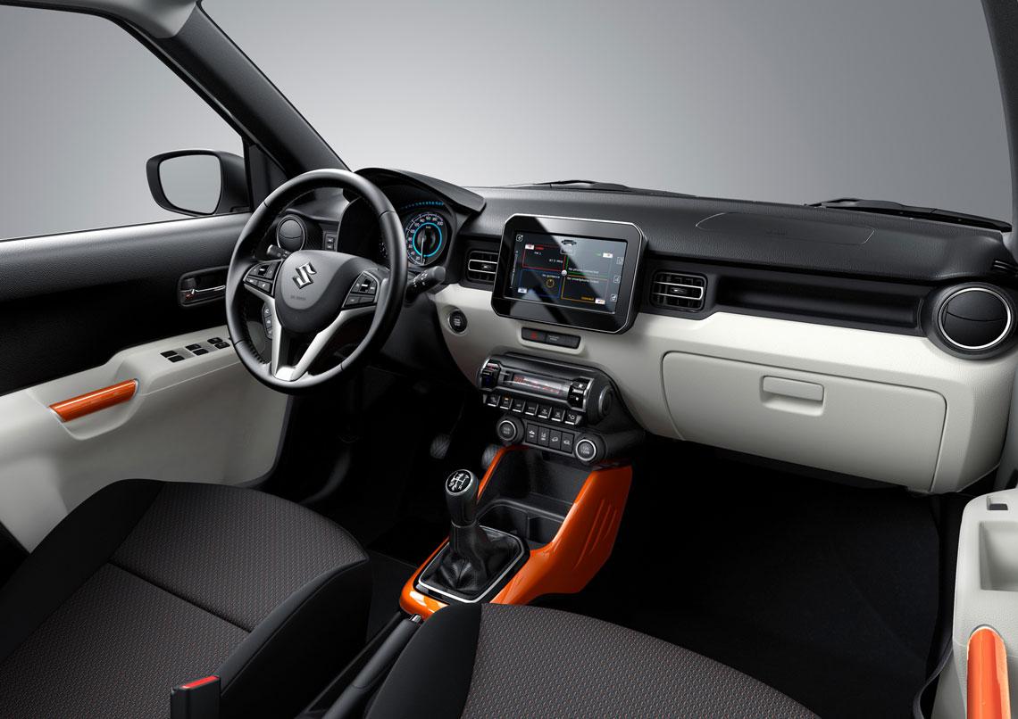 Suzuki Ignis 2017 - салон, интерьер