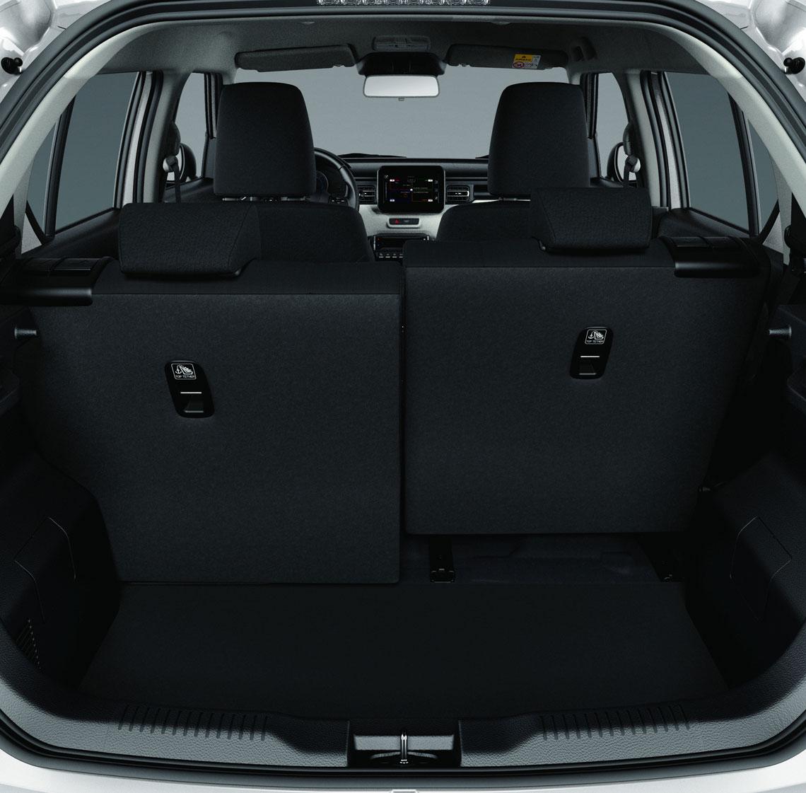 Suzuki Ignis 2017 - багажник