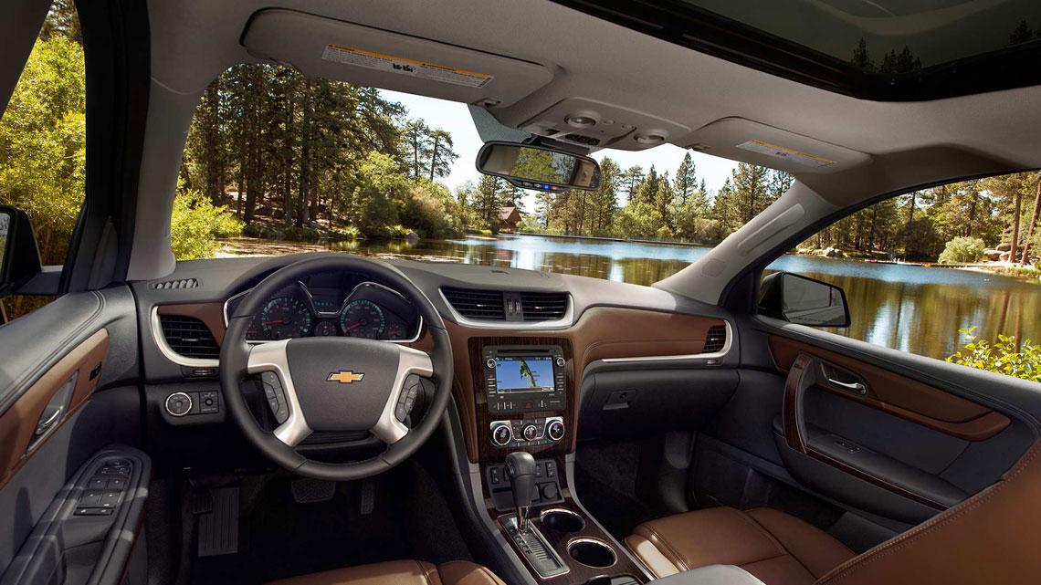 Chevrolet Traverse - салон, интерьер