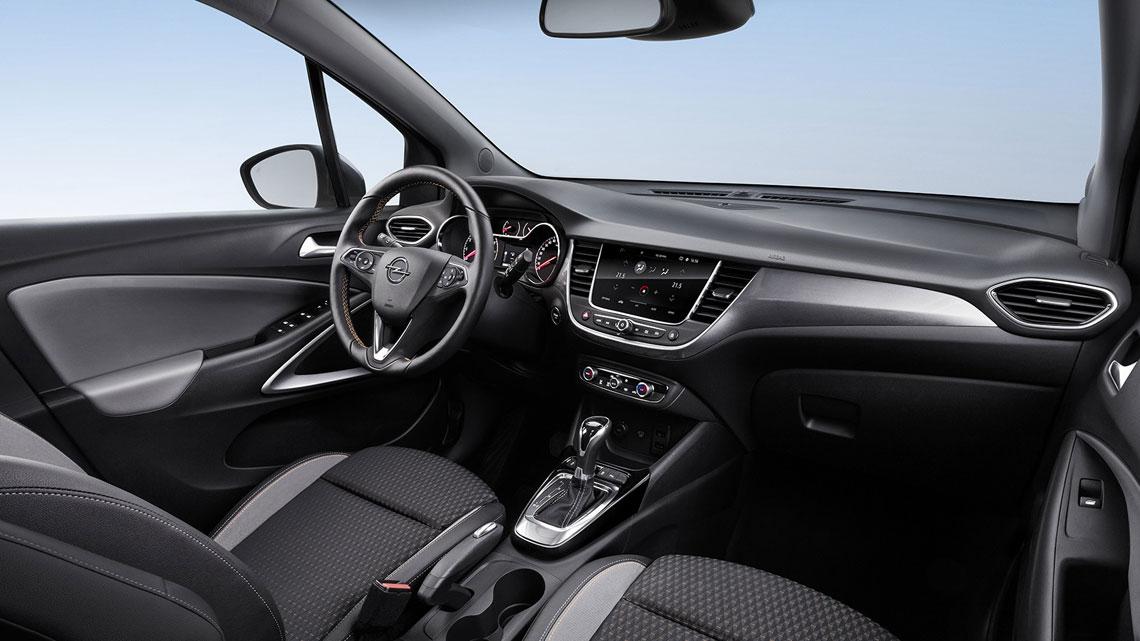 Opel Crossland X - интерьер, салон
