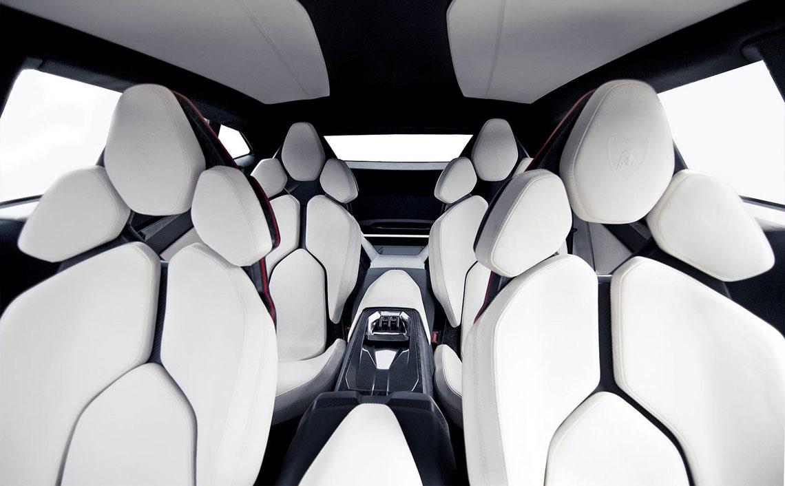 Lamborghini Urus - салон, интерьер