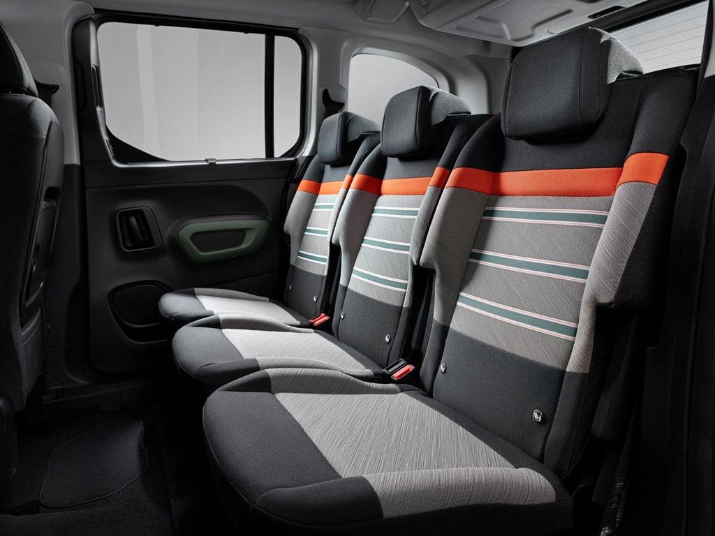 Citroen Berlingo 3 - интерьер, салон