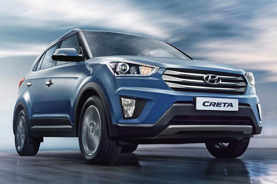 Новый компактный внедорожник Hyundai Creta